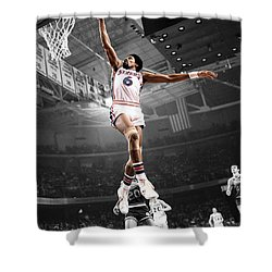 Dr J Shower Curtain