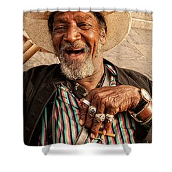 Dr. Luv New Orleans Shower Curtain by Kathleen K Parker