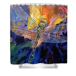 Dragon Summer Shower Curtain