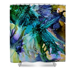 Dragonfly Dreamin Shower Curtain