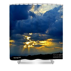 Dramatic Clouds Shower Curtain
