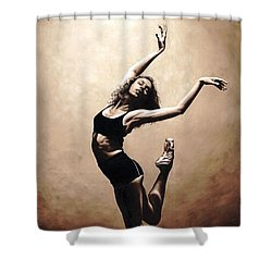 Dramatic Eclecticism Shower Curtain by Richard Young