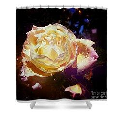 Dramatic Rose Shower Curtain