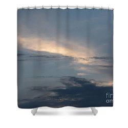 Dramatic Skyline Shower Curtain