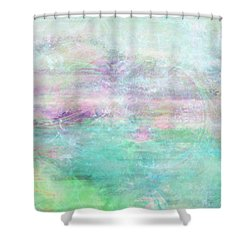 Dream - Abstract Art Shower Curtain by Jaison Cianelli