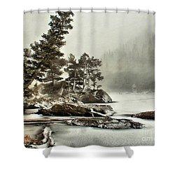 Dream Blizzard Shower Curtain