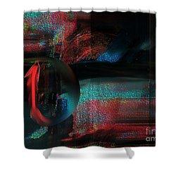 Shower Curtain featuring the digital art Dream Catcher by Yul Olaivar