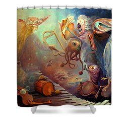 Dream Immersion Shower Curtain