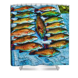 Dream In Color Shower Curtain