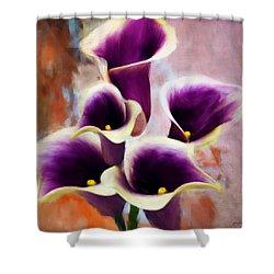 Dream Of Purple Shower Curtain