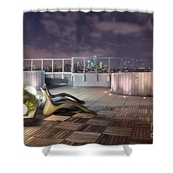 Dream On Until Tomorrow Shower Curtain by Evelina Kremsdorf