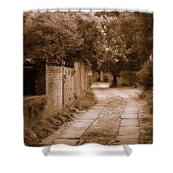 Shower Curtain featuring the photograph Dream Road by Rodney Lee Williams