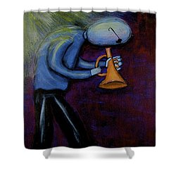 Dreamers 99-001 Shower Curtain by Mario Perron