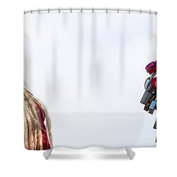 Dreaming - Featured 3 Shower Curtain by Alexander Senin