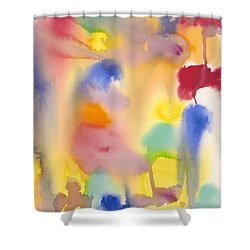 Dreaming In Color Shower Curtain