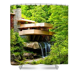 Dreaming Of Fallingwater 3 Shower Curtain