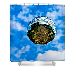 Dreaming Of Flying - Featured 3 Shower Curtain by Alexander Senin