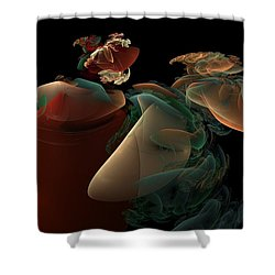 Dreaming Shower Curtain by Peter R Nicholls