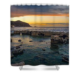 Dreaming Sunset Shower Curtain