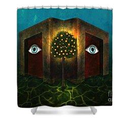 Dreams Do Not Sleep Shower Curtain