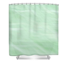 Dreams Of Mint Shower Curtain