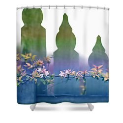 Shower Curtain featuring the photograph Dreams Of A Picket Fence by Holly Kempe