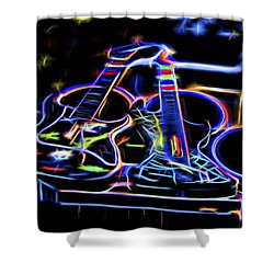 Dreams Of Music Shower Curtain