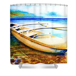 Dreams Of Polynesia Shower Curtain
