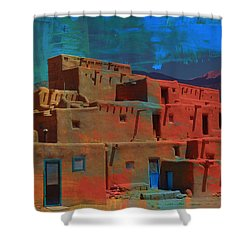 Dreams Of Taos Shower Curtain