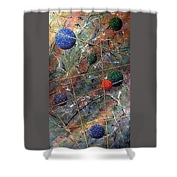 Dreamscape Shower Curtain by Micah  Guenther