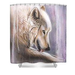 Dreamscape Wolf IIII Shower Curtain