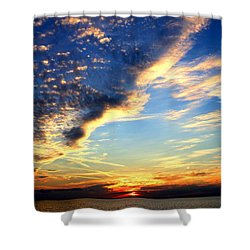 Shower Curtain featuring the photograph Dreamy by Faith Williams
