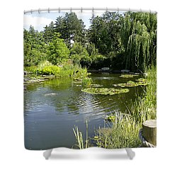 Dreamy Pond Shower Curtain
