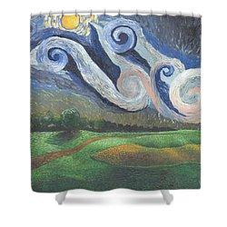 'dreamy Sky' Shower Curtain