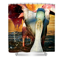 Shower Curtain featuring the photograph Drenched by Faith Williams