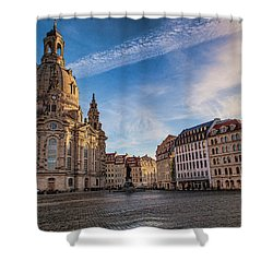 Dresden Frauenkirche Shower Curtain