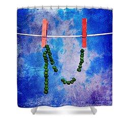 Dried Peas Shower Curtain