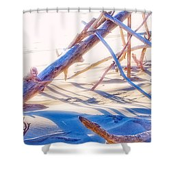 Driftwood 1 Shower Curtain by Adria Trail