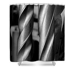 Drills Shower Curtain by Steven Ralser