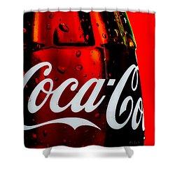 Drink Coca Cola Shower Curtain by Bob Orsillo