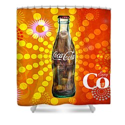 Drink Ice Cold Coke 4 Shower Curtain