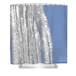 Shower Curtain featuring the photograph Drip Caught In Action by Luther Fine Art