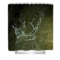 Drip Drop Splash Shower Curtain