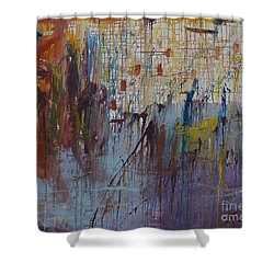 Drizzled Shower Curtain