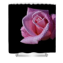 Shower Curtain featuring the photograph Droplets by Doug Norkum