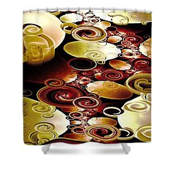 Drops And Ripples Shower Curtain
