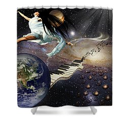 Drops Of Jupiter Shower Curtain