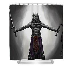 Drow Shower Curtain