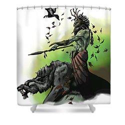 Druid Shower Curtain