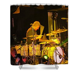 Drumer For Newsong Rocks Atlanta Shower Curtain